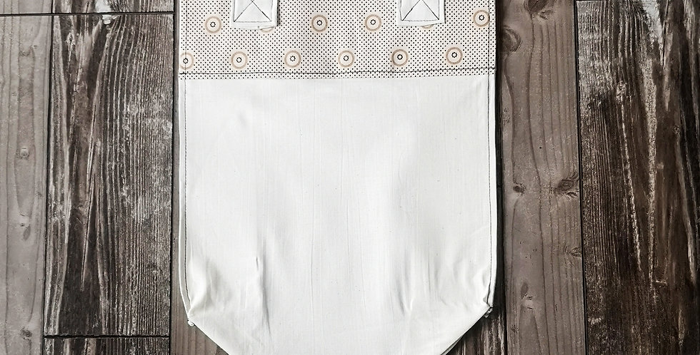 Kind Shopper Bag - Nude Dot