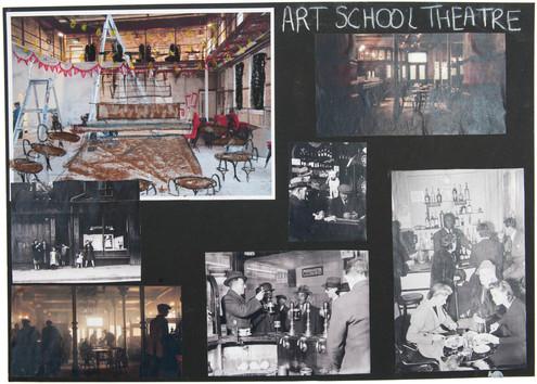 Art School Theatre research