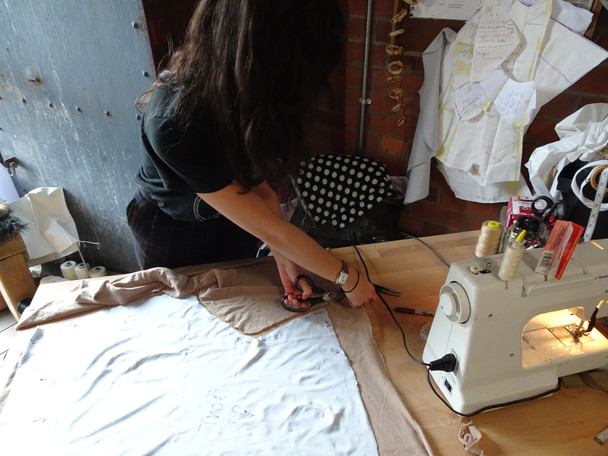 Puppet making for VIP Puppets, Autumn 2016