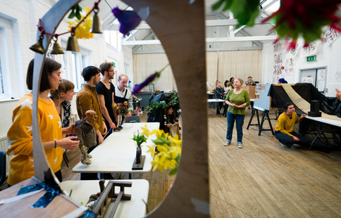 Group Sharings at Curious School of Puppetry