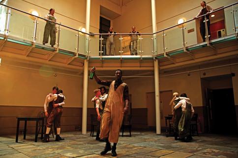 Institute Atrium dancers