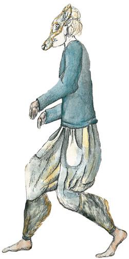 Costume Design Wolves