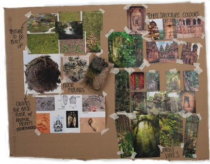 jungle book moodboard