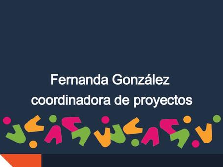 Conoce a nuestros miembros: Fernanda González coordinadora de proyectos
