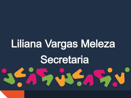Conoce a nuestros miembros: Liliana Vargas Meleza Secretaria