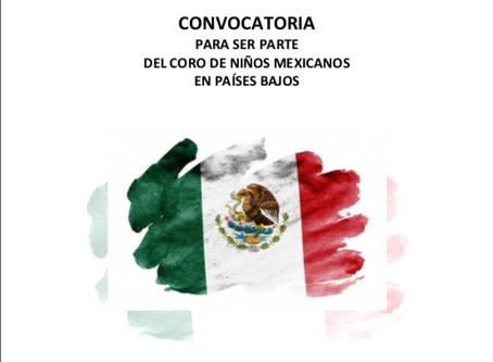 Coro Mexicano en Países Bajos: Convocatoria 2020