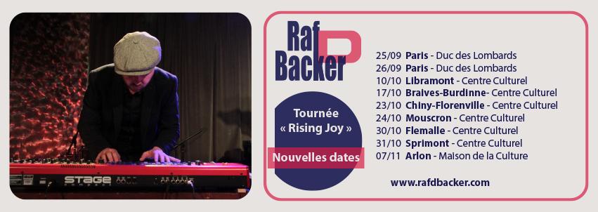 """Tournée """"Rising Joy"""" nouvelles dates"""