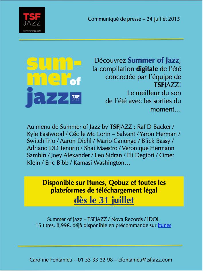 Summer of Jazz TSF Jazz