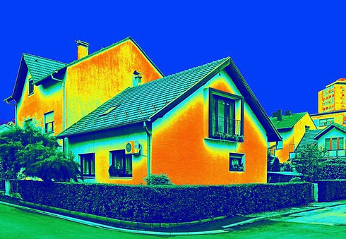 Heat loss uninsulated house Harrogate