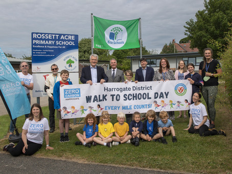 Harrogate District school children join the fight against climate change
