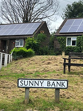 Button photo domestic solar Lower Nidderdale