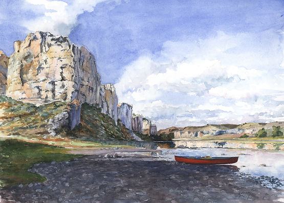 White Cliffs Upstream - 10 x 14 lo res C