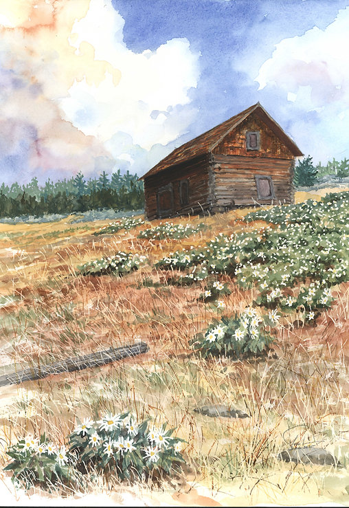 Sheilds cabin Study #4 12x16 lo res.jpg