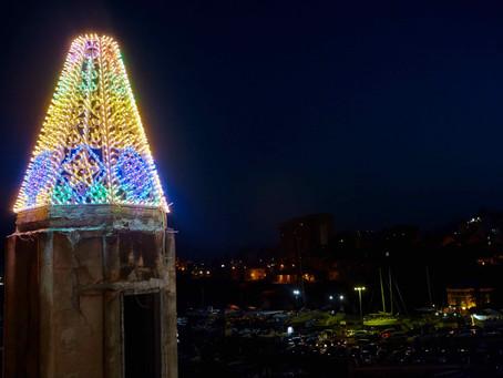 Le luci di Domenico Pellegrino illuminano i Quattro Pizzi di Casa Florio