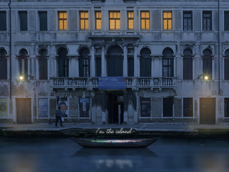 Domenico Pellegrino alla 58. Biennale di Venezia, Padiglione del Bangladesh.