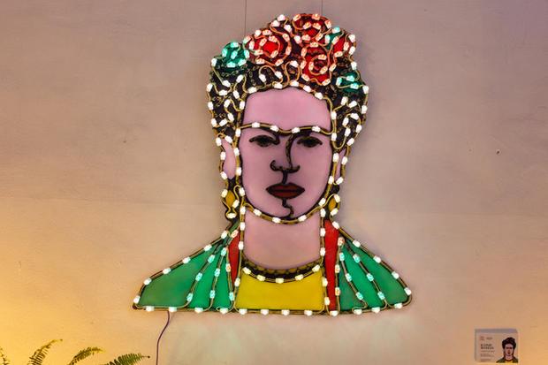 Frida, collezione iconic woman, 100x150 cm, Palazzo Sant'Elia, Palermo