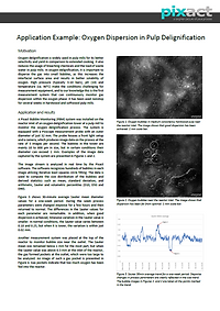 Oxygen dispersion in pulp delignificatio