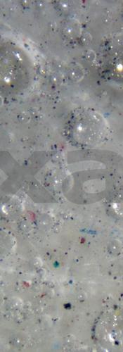 Liquid + gas + particles