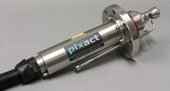 Customized Pixscope DN80 with a washing nozzle
