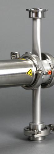 Pixcell DN25 flow-through cuvette