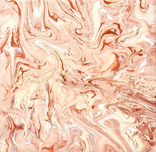 SKIN - Original Abstract Fluid Acrylic Flow Art Pour Painting