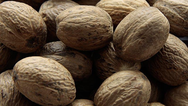 Muskat nødder