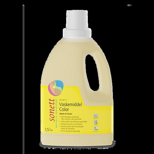 Vaskemiddel color mynte & citron