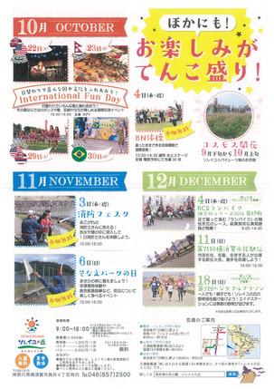 10月、11月、12月はソレイユの丘がおもしろい!