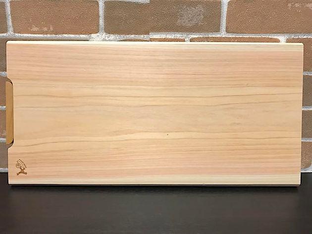 Cypress cutting board by Tosaryu
