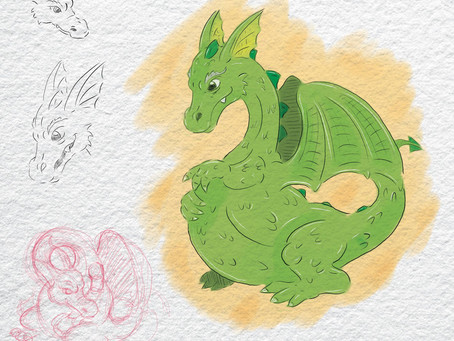 How was the Dragon made?
