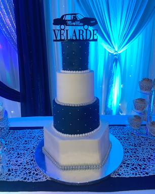 "6/8/10/14"" Wedding Cake"