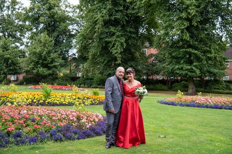Lichfield Registry Office Wedding Photographer Beacon Park
