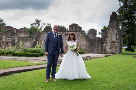 Dudley Registry Office Wedding Photographer Ruins