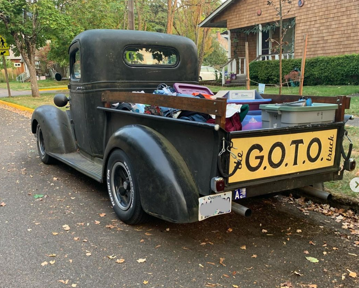 GOTO truck, Eugene homeless