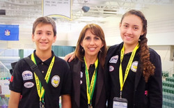 Ricardo Purata, Yara Rmz y yo en la Universidad Oswego, NY_edited