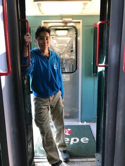 Alex Najera exalumno de 3ero. en Viaje Chepe