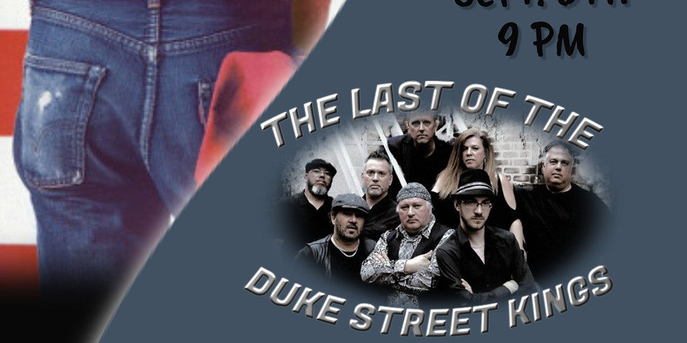 Bruce Springsteen Tribute - The Last of the Duke Street Kings live at Chez George