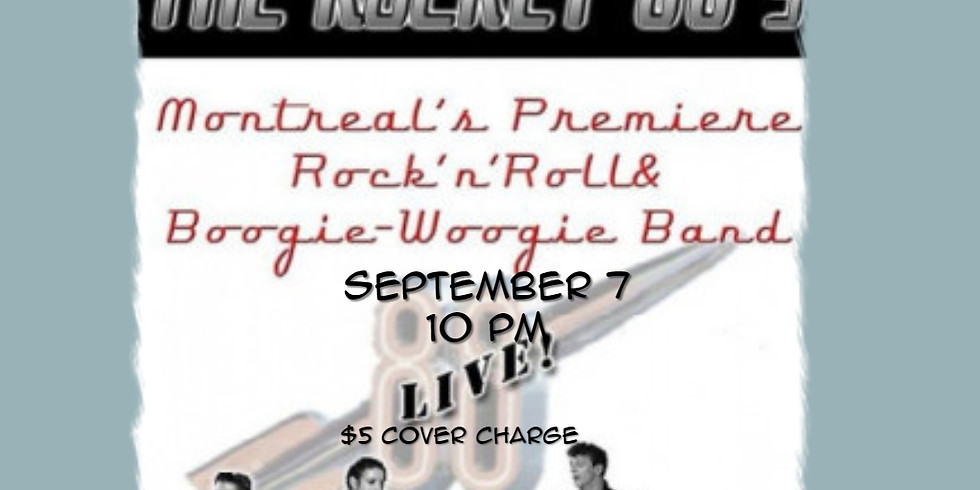 Rocket 88's live at The Blvd