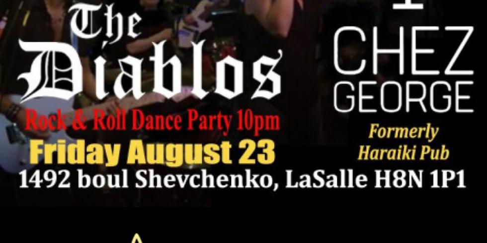 The Diablos live at Chez George