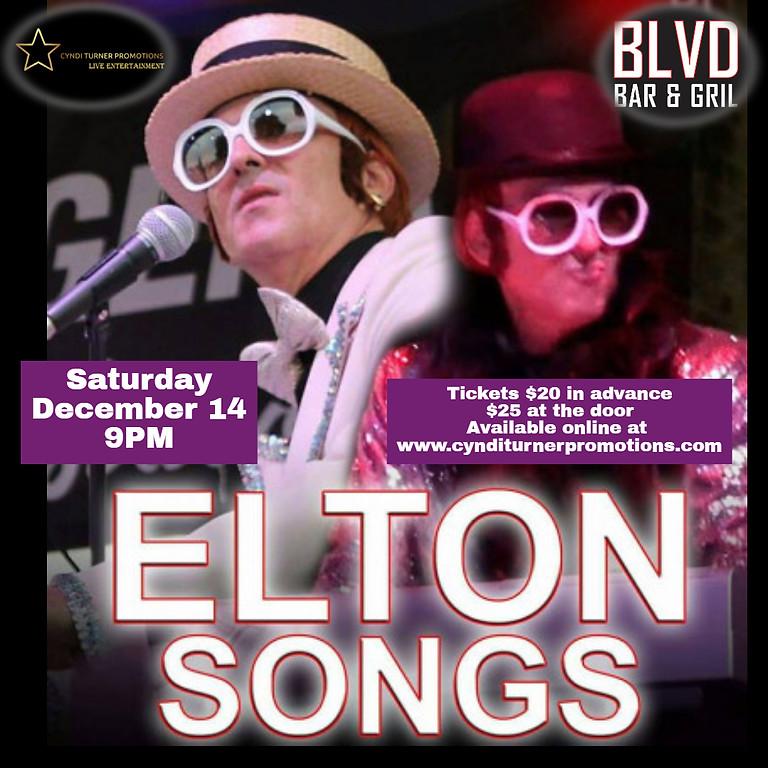 Elton Songs (A Tribute to Elton John) live at The Blvd