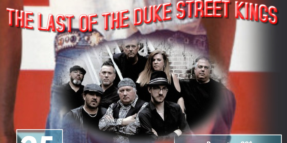The Last of the Duke Street Kings Bruce Springsteen Experience live at Billard le Patriote