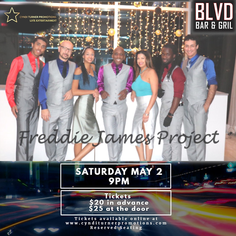 Freddie James Project live at The Blvd