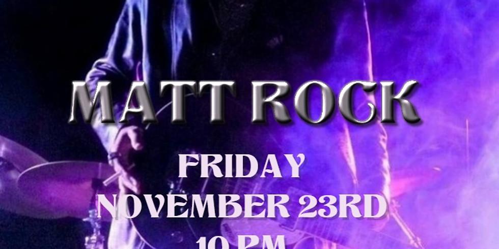 Haraiki Pub presents Matt Rock