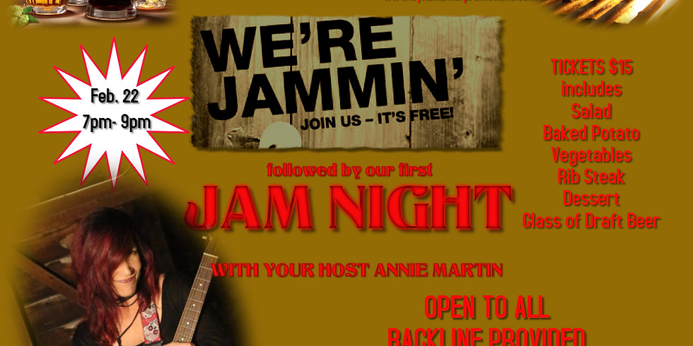 Beer and Beef followed by Jam Night at The Haraiki Pub
