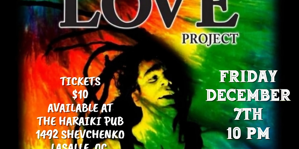 Haraiki Pub presents One Love Project