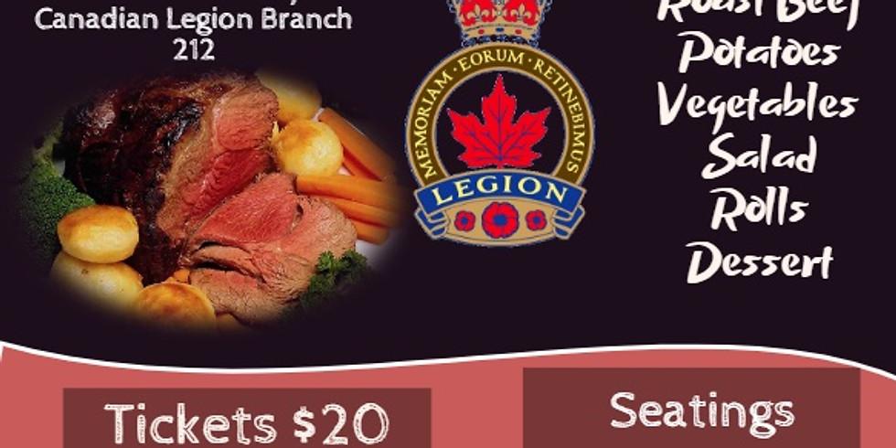 Help save The Lasalle Legion Fundraiser Rioast Beef Dinner