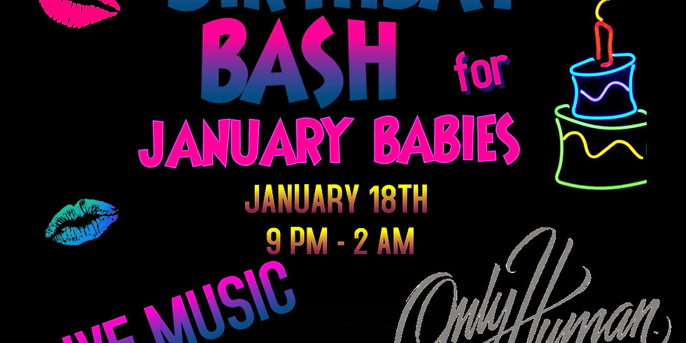 Birthday Bash for January Babies at The Haraiki Pub