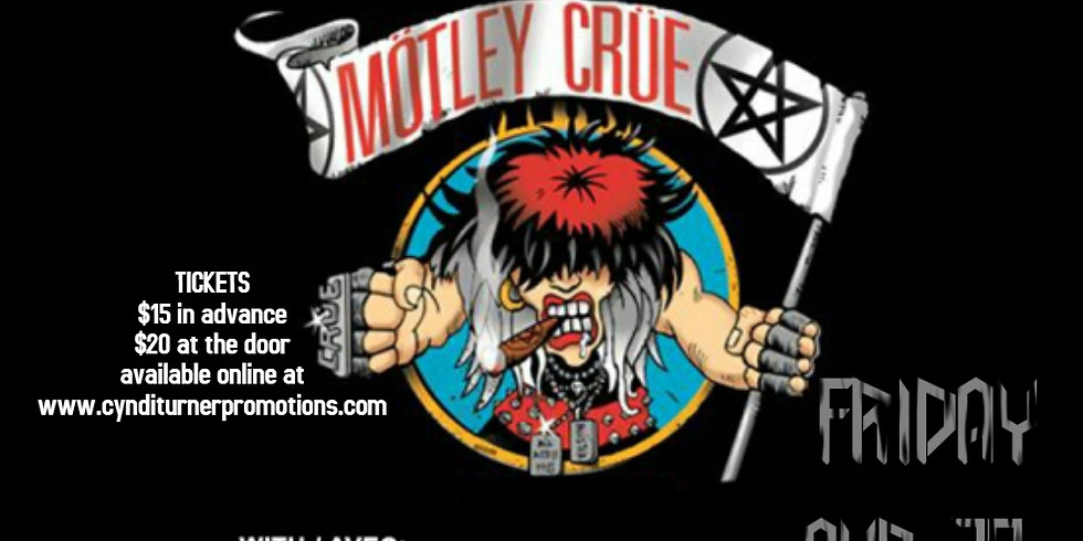 Montreal Crue (Motley Crue Tribute) with guests Bon Scott AC/DC  Experience