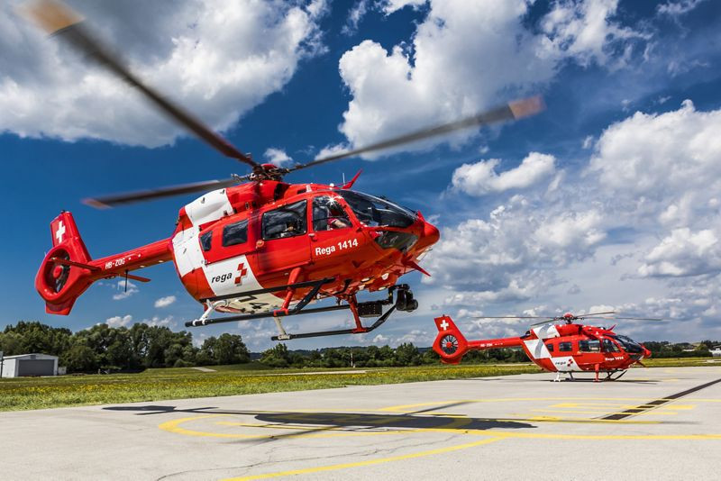A total of six helicopters for Swiss Air-Rescue