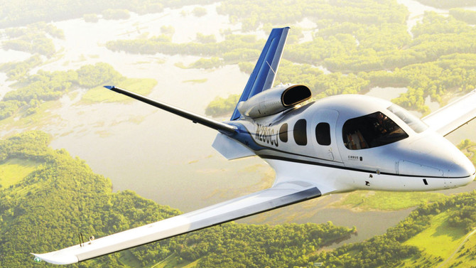 ​ Cirrus Vision Jet SF50 receives FAA certification